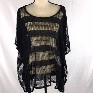Style & Co. Black Cafton Top